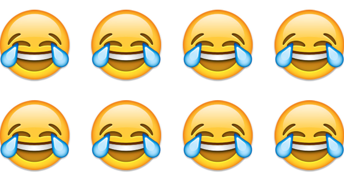 1104x580 Who Did This How To Use The Laugh Cry Emoji, 2015's Word Of The Year