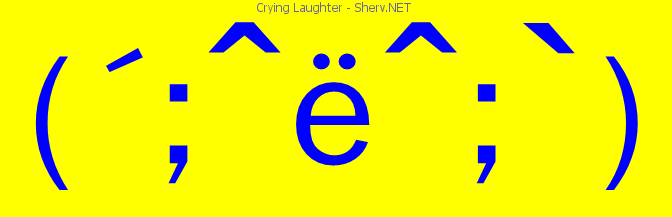 672x217 Crying Laughter Facebook Emoticon Text Art And Emoticons