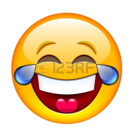 445x450 Emoticon Laughing With Closed Eyes Royalty Free Cliparts, Vectors