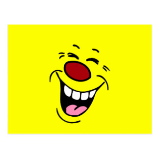 324x324 Laughing Face Postcards Zazzle