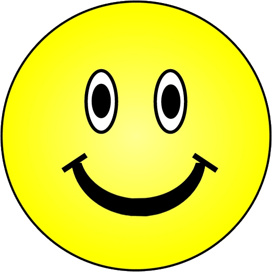 531x531 Free Clipart Of A Smiley Face