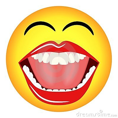 400x400 Free Clipart Laughing Face