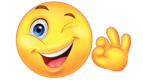 575x323 Happy Face Emoticon