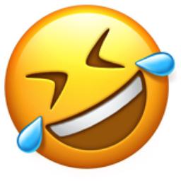 256x256 Rolling On The Floor Laughing Emoji U 1f923