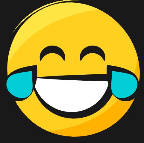 481x477 Smiley Jaune Emoji Yellow Rire Pleurer Laughing Crying Larmes De