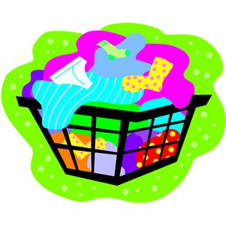 325x325 Dirty Laundry Clipart Kid