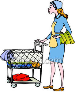 245x300 Doing Laundry Clipart