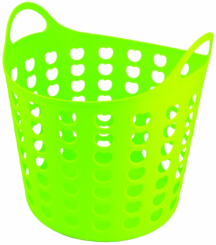 1324x1500 Elliott's Funky Cleaning Plastic Laundry Basket, Green Amazon.co