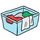 170x170 Laundry Basket Clip Art
