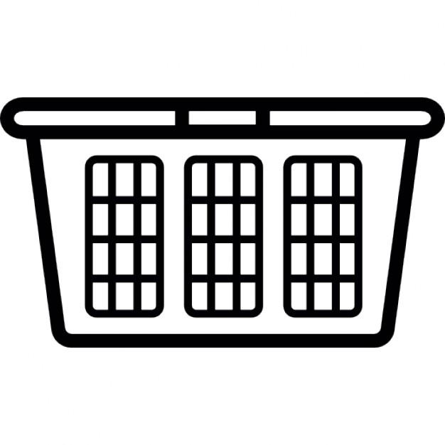 626x626 Laundry Basket Clipart