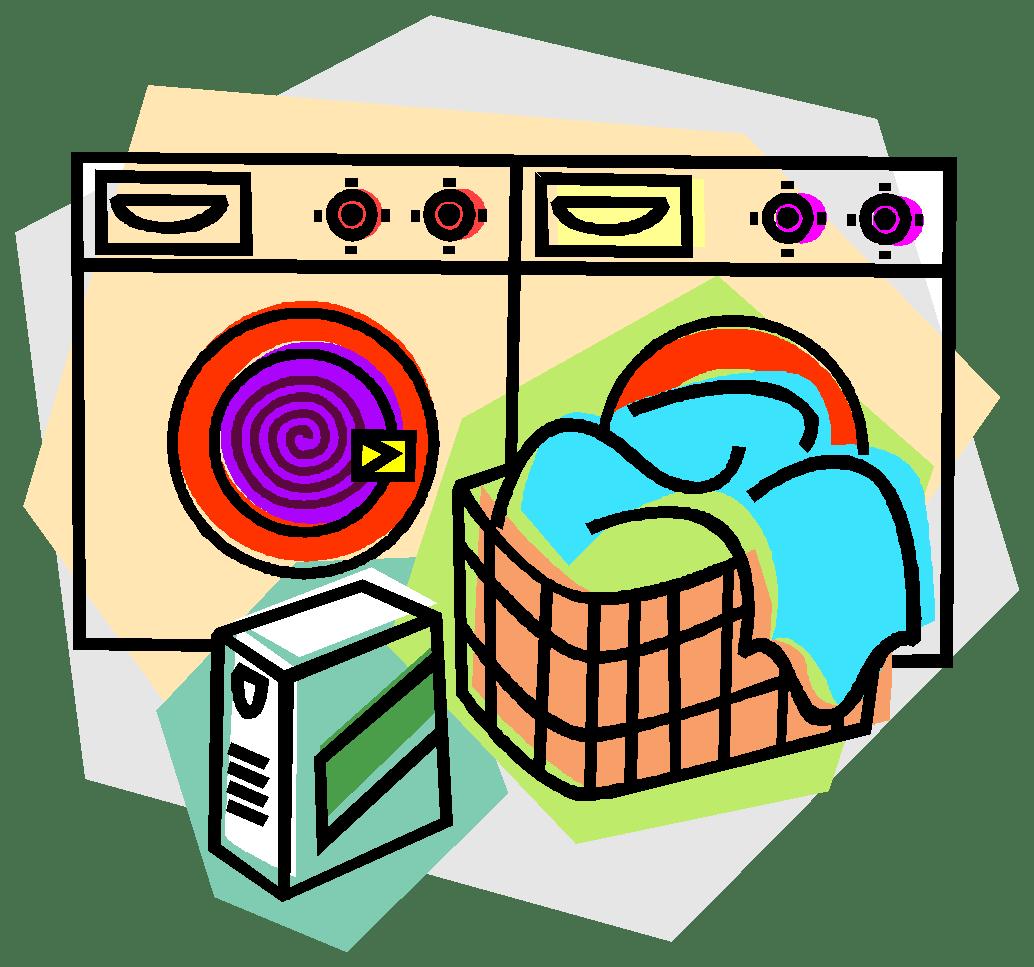 1034x967 Laundry Basket Clipart