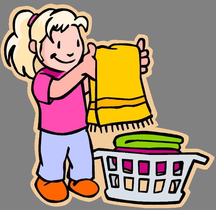 694x675 Laundry Clip Art