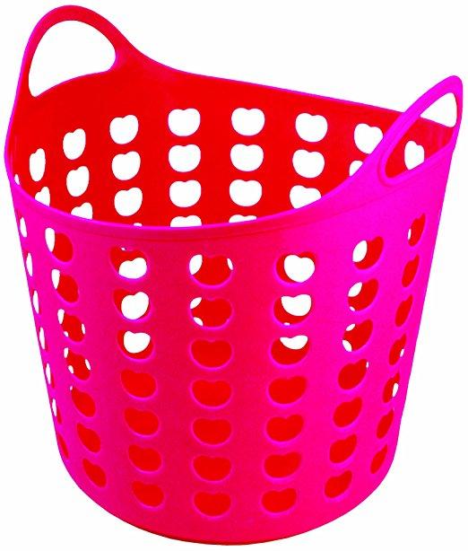 522x614 Pink Laundry Basket Clip Art Cliparts