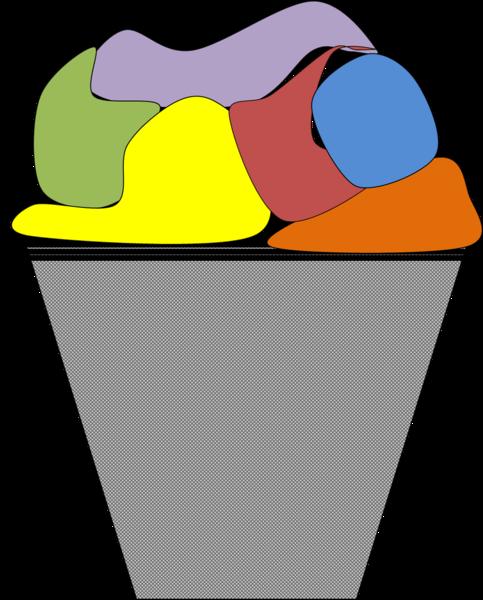 483x600 Small Laundry Basket Clip Art Cliparts