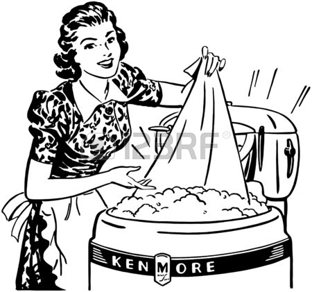 450x421 135 Doing Laundry Stock Vector Illustration And Royalty Free Doing