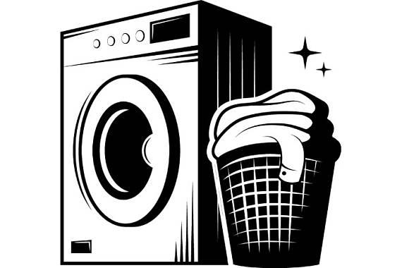 570x380 Laundry Logo 1 Washing Machine Wash Clean Clothes Maid