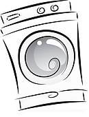 130x170 Laundry Machine Clip Art