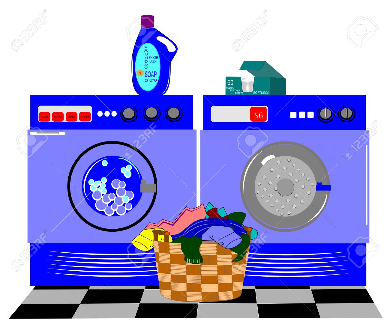 Laundry Clipart Free