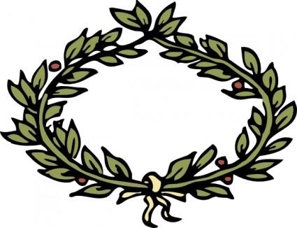 425x326 Green Laurel Wreath Set Vector Misc Free Vector Free Download