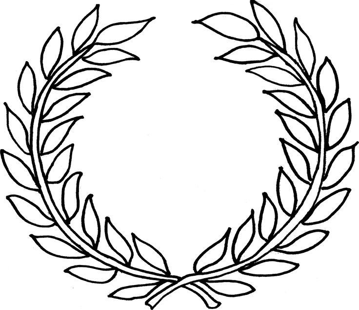 Laurel Wreath Images Clipart