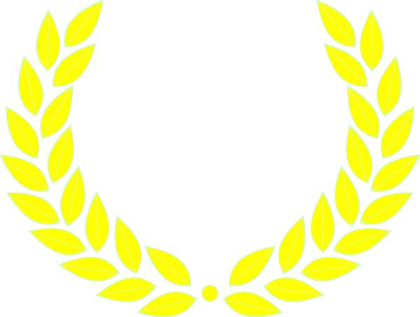 600x453 Laurel Leaf Wreath Clip Art