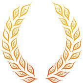 170x169 Laurel Wreath Clip Art