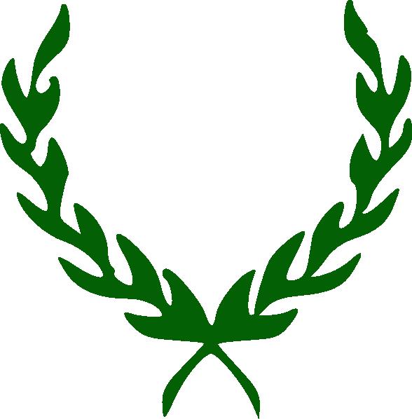 588x598 Laurel Wreath Clip Art Clipart