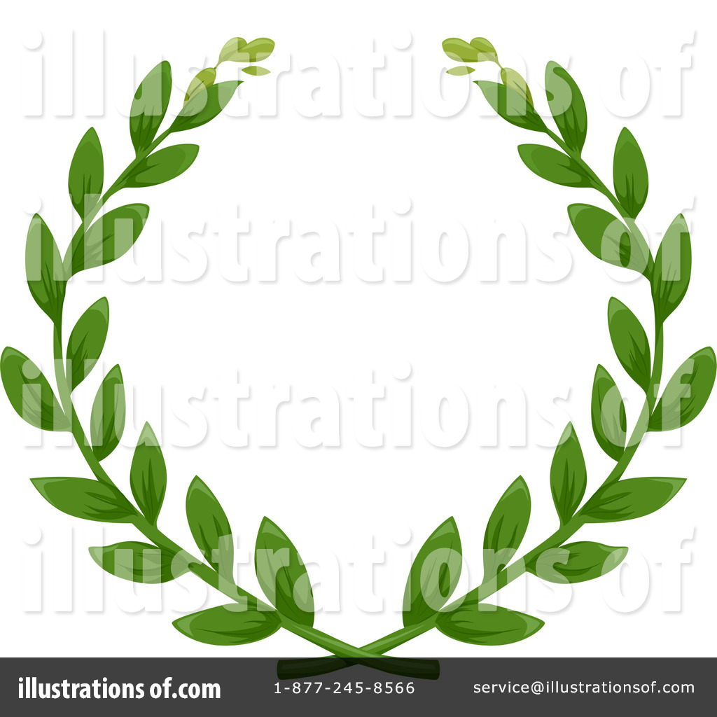 1024x1024 Laurel Wreath Clipart