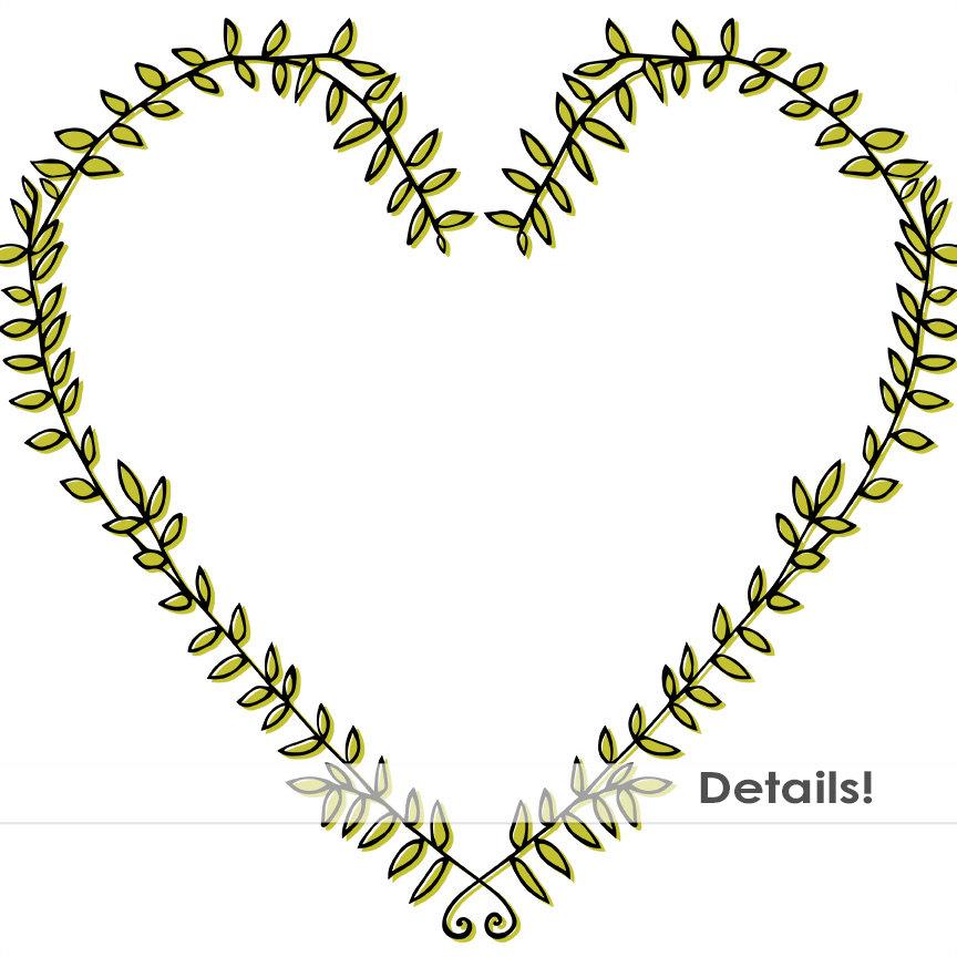 864x864 Laurel Wreath Frame Clip Art, Digital Stamps, Png Images Amp Brush