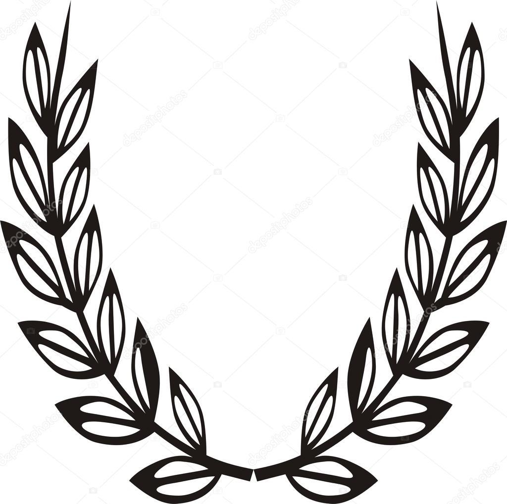 1024x1019 Laurel Wreath Stock Vector Chamjad