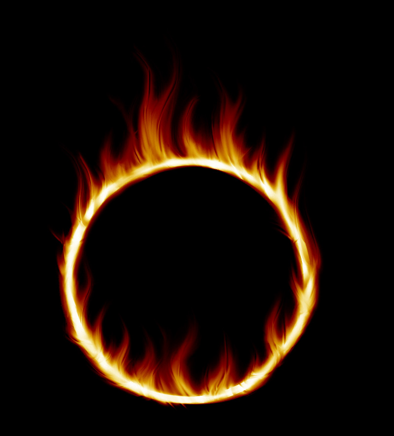 800x886 005 Flame Circle By Tigers Stock