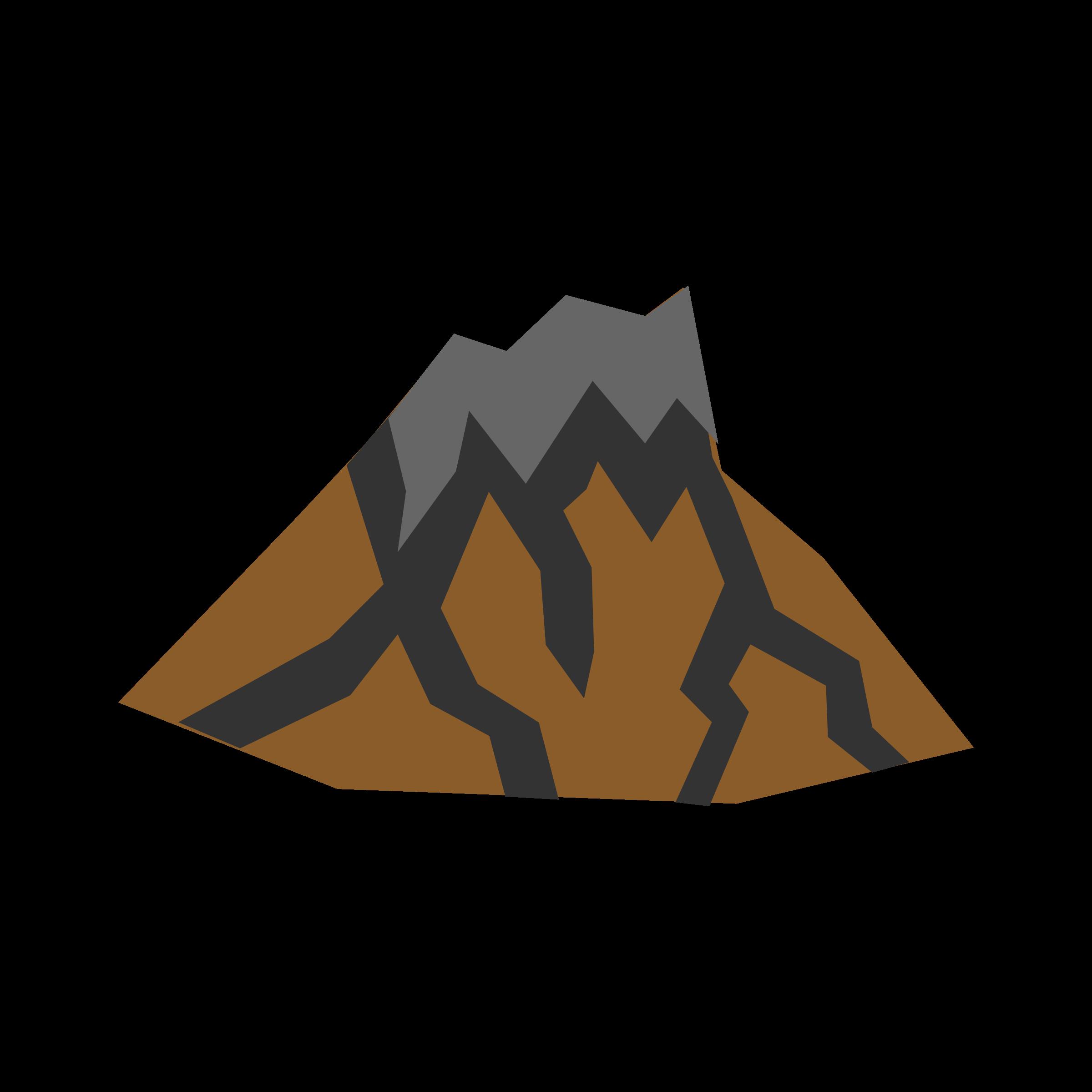 2400x2400 Lava Clipart Dormant Volcano