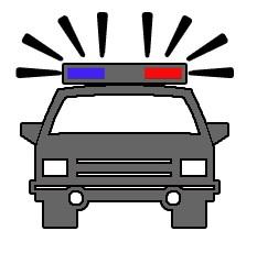 233x230 Police Car Police Clip Art Clipartix