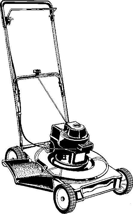 444x716 Lawn Mower Clipart Practica Technical
