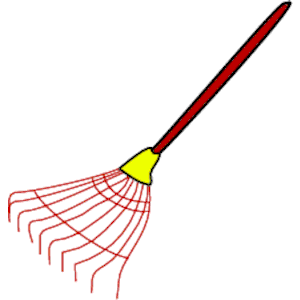 300x300 Rake Lawn Clipart, Cliparts Of Rake Lawn Free Download (Wmf, Eps