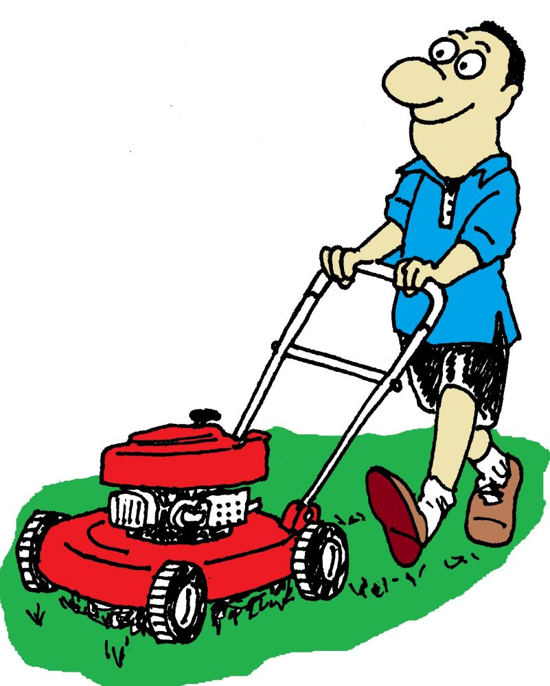 801x1000 Grass Clipart Lawn Maintenance