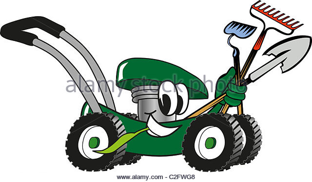 640x373 Cartoon Mower Stock Photos Amp Cartoon Mower Stock Images