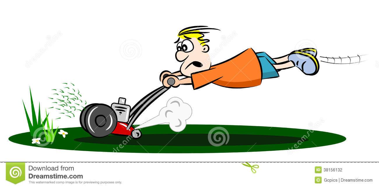 Lawn mower cartoon clipart free download best lawn mower for Service personne tonte pelouse