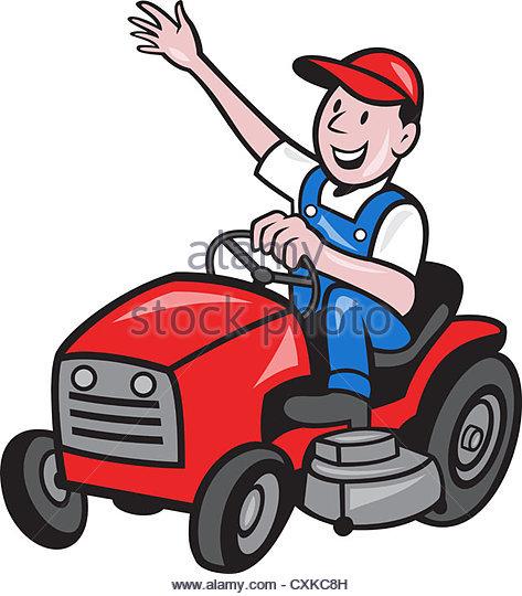473x540 Cartoon Mower Stock Photos Amp Cartoon Mower Stock Images