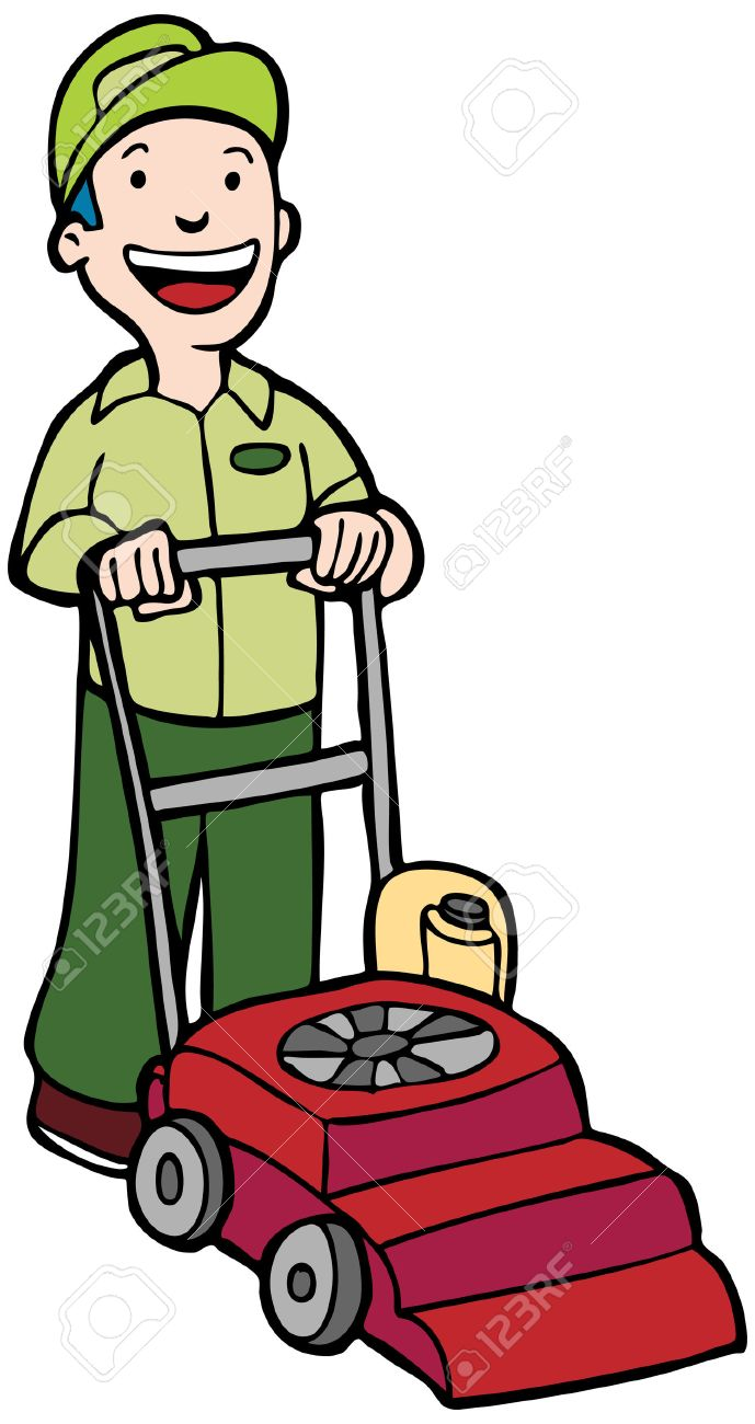 Lawn Mower Cartoon Pictures