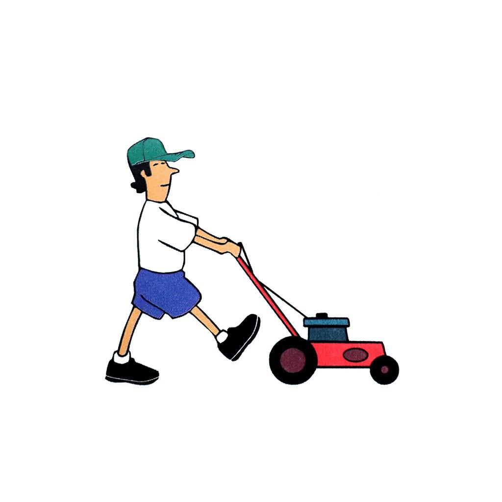 1024x1024 Lawn Mower Tattoos Lawn Mower Temporary Tattoo