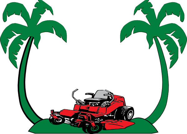 600x430 Paradise One Lawn Mower Clip Art