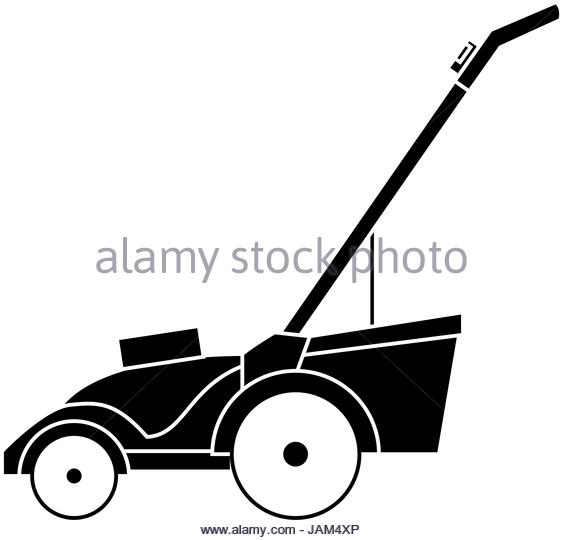 563x540 Lawn Mower Black And White Stock Photos Amp Images