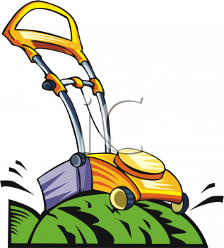 317x350 Royalty Free Lawnmower Clip Art, Objects Clipart