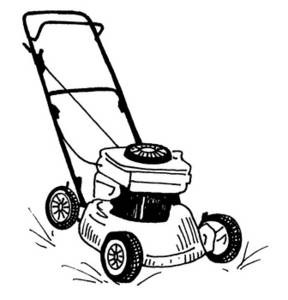 288x300 Lawn Mower Clipart Many Interesting Cliparts
