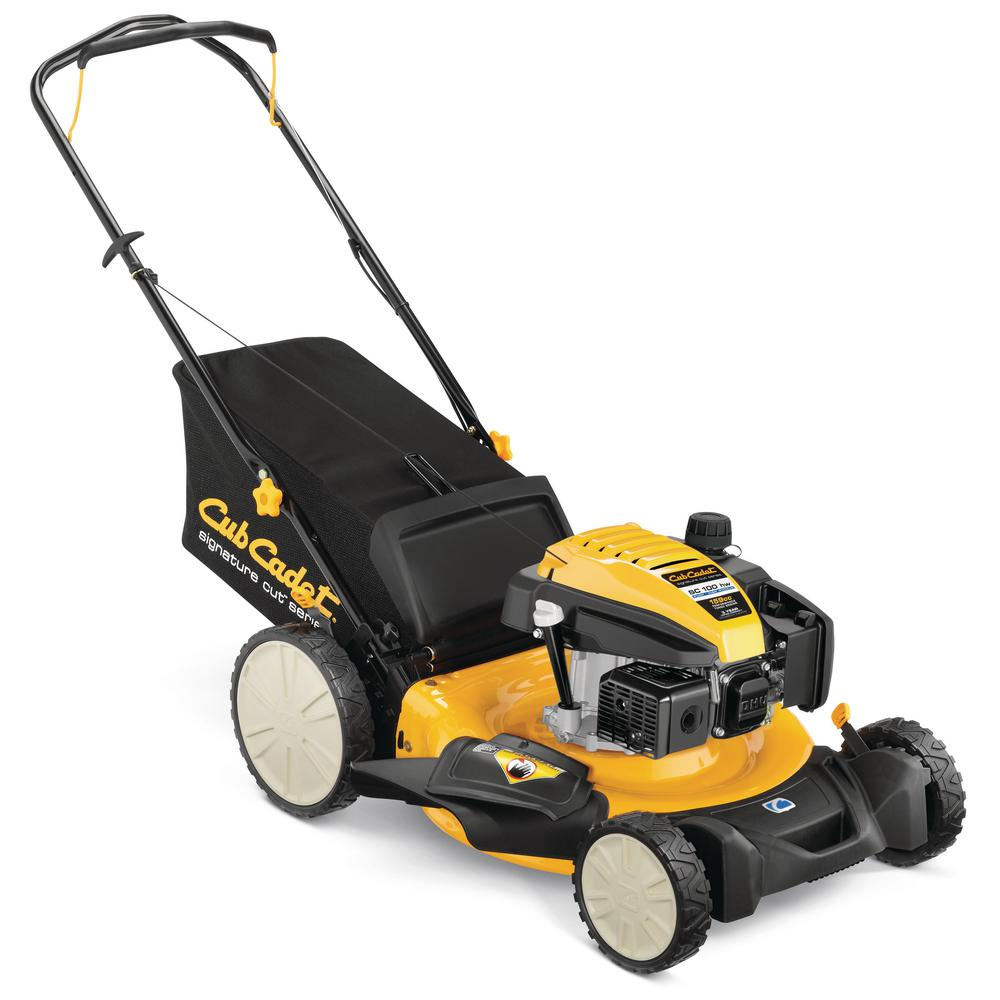 1000x1000 Cub Cadet 21 In. 159cc 3 In 1 High Rear Wheel Gas Walk Behind Push