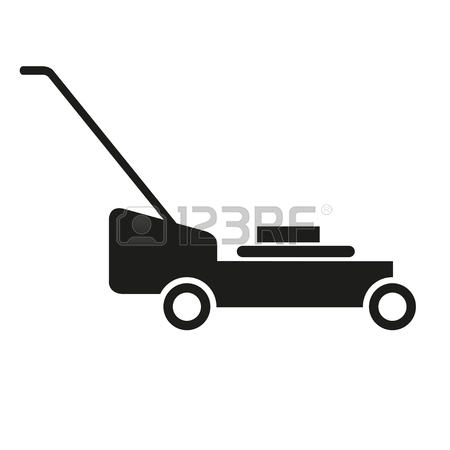 450x450 384 Mower Silhouette Stock Illustrations, Cliparts And Royalty