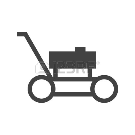 450x450 Lawn, Mower, Landscaping Icon Vector Image.can Also Be Used