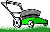 170x111 Lawn Mower Clip Art