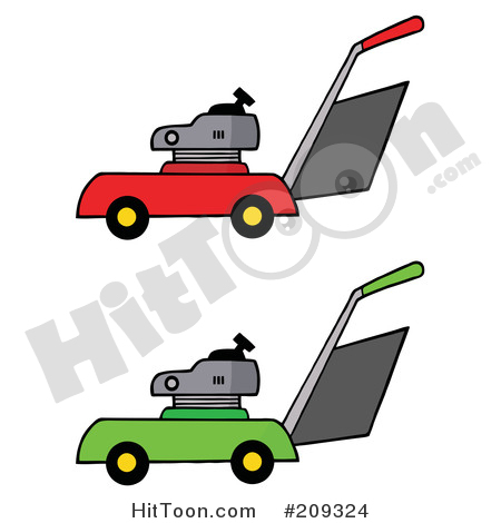 450x470 Lawnmower Clipart